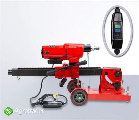WIERTNICA DO BETONU (otwornica) moc silnika 2450 W max 255 mm, 2 biegi - zdjęcie 2