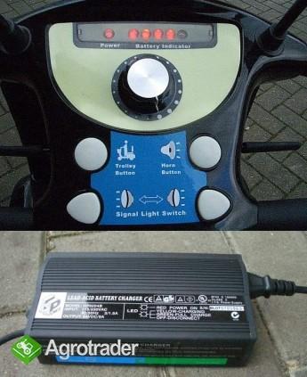 SKUTER ELEKTRYCZNY dla osób starszych model DL24800 - zdjęcie 3
