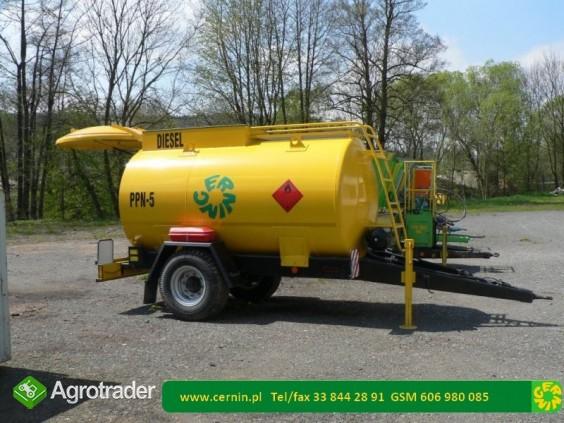 Zbiorniki na paliwo - przyczepa na paliwo  - zdjęcie 1