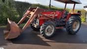 Ciągnik Massey Ferguson 275 + ładowacz czołowy