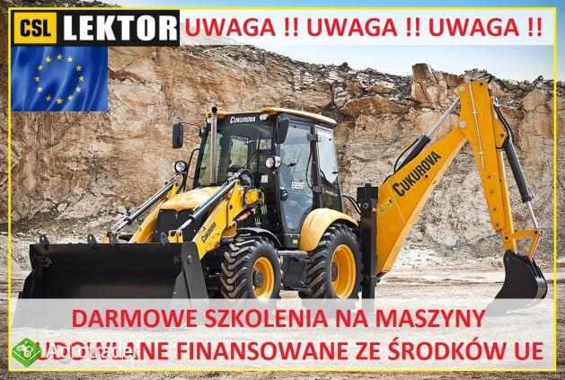 29.06. - DARMOWE SZKOLENIA NA MASZYNY BUDOWLANE !!!