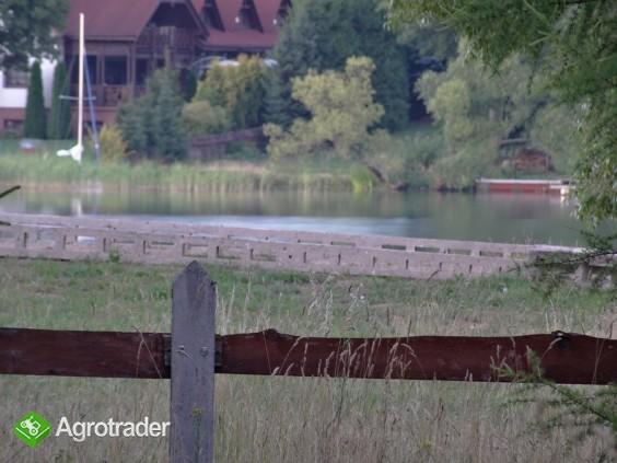 Działka rekreacyjna z widokiem na jezioro Serwy