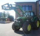 John Deere 6920 with front loader