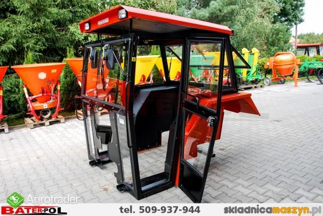Kabina MF 255 Ursus 3512 NAGLAK metalowe błotniki (drzwi na koło) - zdjęcie 5