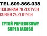 DOWÓZ - TYLKO KURIEREM . TYTOŃ PAPIEROSOWY - 609-866-038