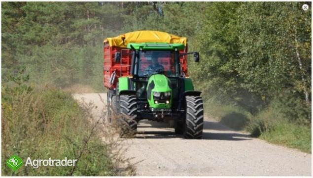 Przyczepa rolnicza Metal-Fach T711/2 – 10t - zdjęcie 5