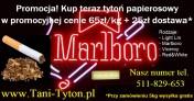 Papierosy tytoń dobrej jakości, różne rodzaje, 65zł za KILO. Wysyłka