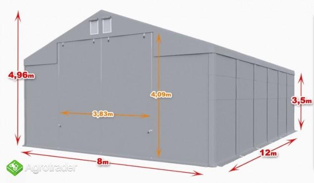 Całoroczna Hala namiotowa Magazyn 8x12×3,5/4,96m