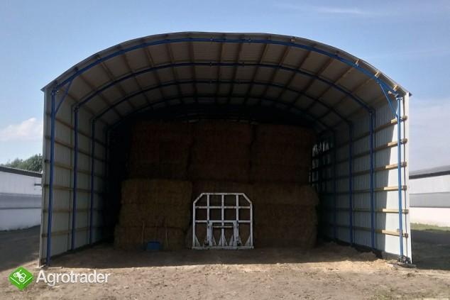 HALA łukowa tunelowa bydło obora chlew 11,8 x 30 - zdjęcie 5