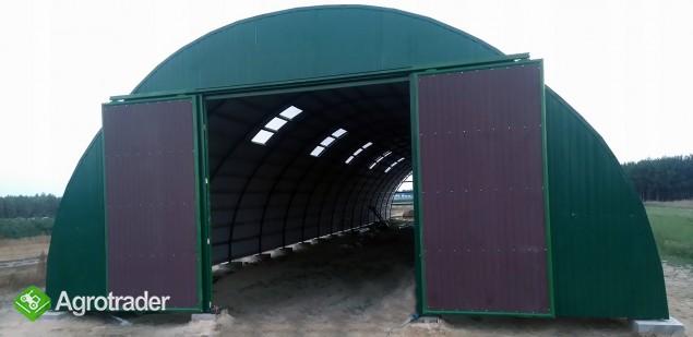 HALA tunelowa konstrukcja stalowa blacha 10,8 x 27 - zdjęcie 3