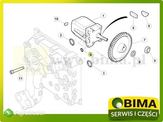 Oring układu hydraulicznego Renault CLAAS Ares 620,620 - zdjęcie 1