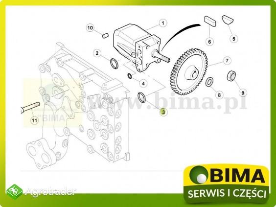 Oring pompy hydraulicznej Renault CLAAS Ares 657,696 - zdjęcie 1