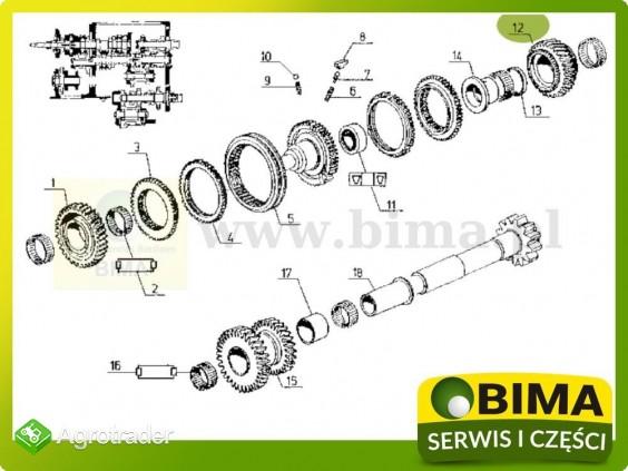 Używane koło zębate rewersu z31 Renault CLAAS 106-14 - zdjęcie 3