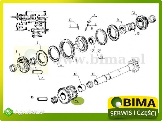 Używane koło zębate rewersu Renault CLAAS 113-14,120-14 - zdjęcie 4