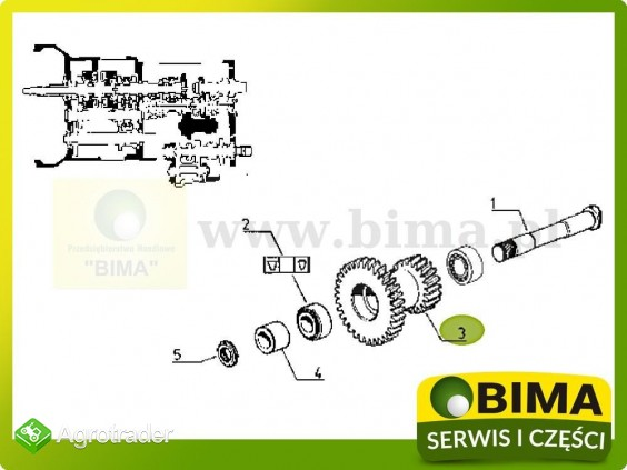 Używane koło zębate wałka Renault CLAAS 113-12,113-14 - zdjęcie 4
