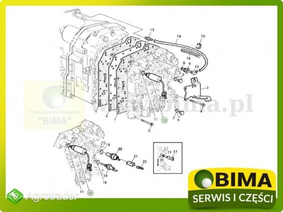 Czujnik ciśnienia oleju przekładniowego John Deere 6610 - zdjęcie 1