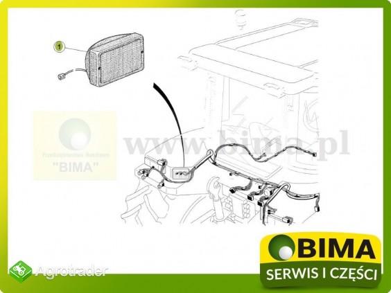 Lampa robocza na błotnik tylny Renault CLAAS Ares 640 - zdjęcie 2