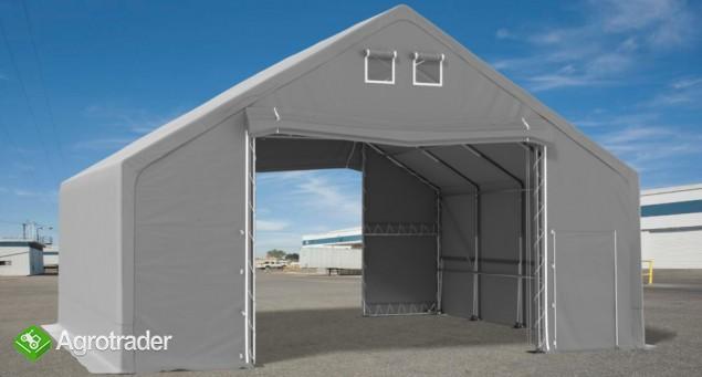 Namiot hala  4x5x2m magzynowa handlowa wiata garaż MTB - zdjęcie 2