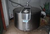 Zbiornik do schładzania mleka - 800 litrów