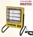 2,4kW* Nagrzewnica elektryczna - promiennik Master TS 3A