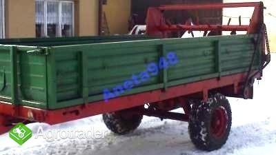 Rozrzutnik obornika 2,5t - 3t SUPEEEER STAN!!!!