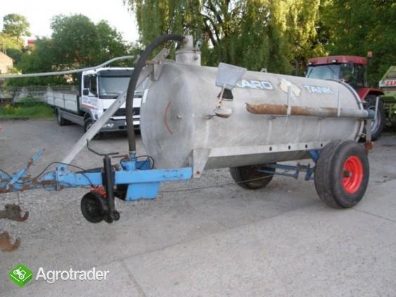 Beczka asenizacyjna pojemność 4000 litrów, - zdjęcie 1