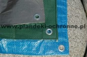 Plandeka rolnicza przeciwdeszczowa 6x8 wodoodporna
