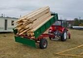 Przyczepa Wywrotka 3,5 tony - 3 stronny WYKIP