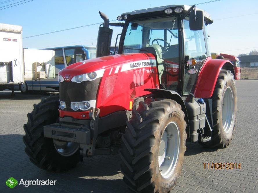 Bardzo dobra Massey Ferguson 7614 Dyna-4, maszyny rolnicze używane sprzedaż XI91